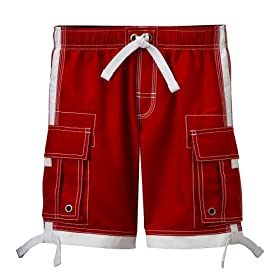 Boys' Cherokee® Volley Swim Trunk - Red