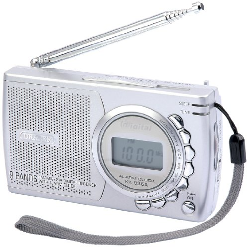 Draper 45800 Radio portatile (2 batterie AA)
