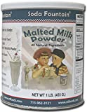 Soda Fountain Malted Milk Powder 2.5 Lb. (Single) - Malt Powder for Ice Cream and Baking - Made in Wisconsin