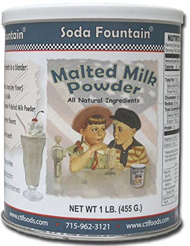 Soda Fountain Malted Milk Powder 2.5 Lb. Canister (Pack of 6) (Soda Fountain Malt compare prices)