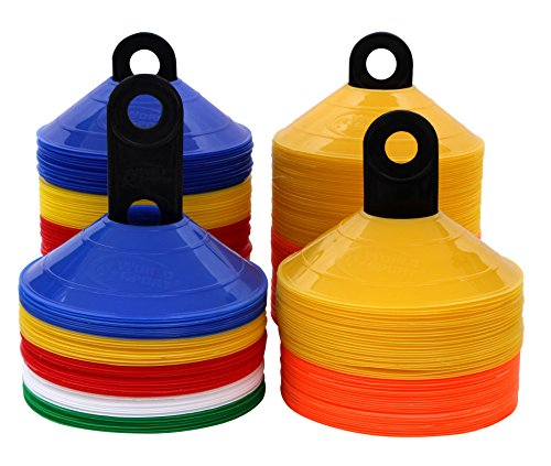World Sport 100 Disc Cone Set with Carrier (Disc Cone Sets compare prices)