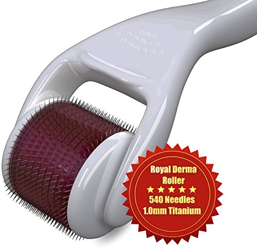 Derma Roller Best Facial Clearing Device For Acne Scars, Wrinkles, Blemish And Blackhead Remover, Dark Circle Eye Treatment Roller, Stretch Marks And Cellulite Reducing Tool. Increases Natural Collagen Production And Skin Elasticity. Multiplies The Result