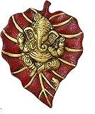 Ratna Handicrafts Red Ganesha Wall Hanging