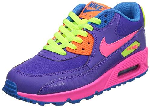 Nike Air Max 90 GS Purple Hyper Grape Pink Volt