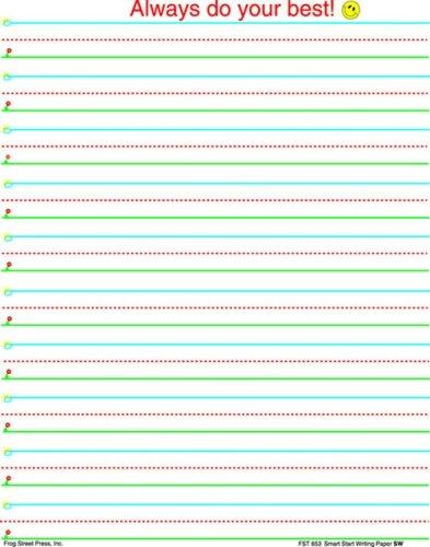smart start writing paper