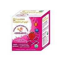 Happy Baby HappyTimes Mixed Fruit Yogis Organic Mixed Fruit - Case of 30 - .3 oz
