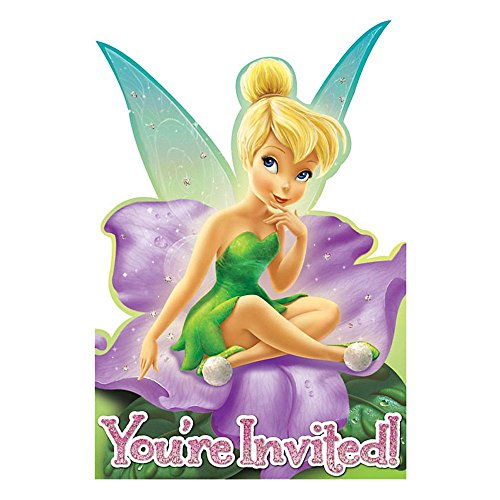 Tinker Bell & Fairies Invitations 8ct [Toy] [Toy] - 1