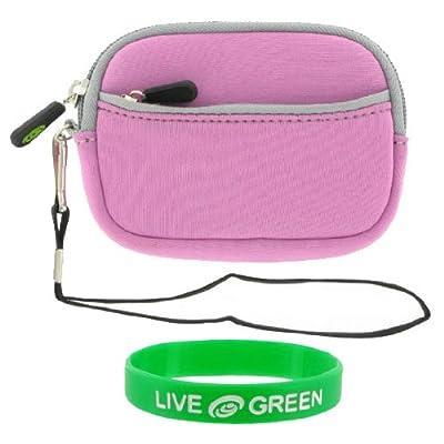Neoprene Sleeve Case (Lilac) for Panasonic Lumix DMC-TS1 Digital Camera Green