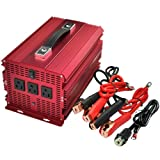 BESTEK 2000w power supply 12VDC to 110VAC inverter power backup outdoor power supply home for flood light,blender,vacuum,refrigerator,microwave oven,electric circular saw,chainsaw,well water pump ect.MRI20011