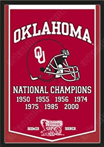 Dynasty Banner Of Oklahoma Sooners-Framed Awesome & Beautiful-Must For A... by Art and More, Davenport, IA
