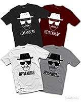 Hommes Heisenberg T-SHIRT Walter White One Who Knocks Breaking Bad Inspired