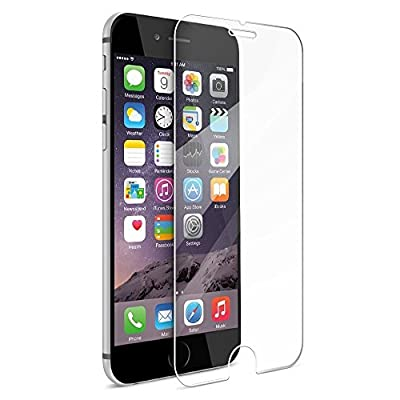 Iphone6 Screen Protector, 0.33-mm Tempered Glass,9H Anti-Scratch,Anti-Fingerprint, Anti-Glare,2.5D Curved Edge Ultra Slim Guard(4.7 inch) by Iron Shield