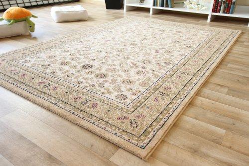 Elisabeth Sarough Orientteppich – beige gemustert – Webteppich