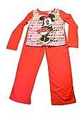 Disney Big Girl's Minnie Mouse Pajama Set