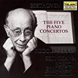 The Five Piano Concertos (Boston Symphony Orchestra feat. conductor: Seiji Ozawa, piano: Rudolf Serkin) (disc 1) - Ludwig van Beethoven