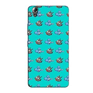 GRUMPY RAT BACK COVER FOR LENOVO A6000
