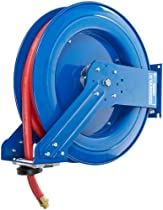 Coxreels Spring-Driven Fuel Hose Reel with Hose, Model# TSHF-N-550, 3/4