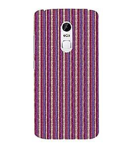 EPICCASE purple and pink straights Mobile Back Case Cover For Lenovo Vibe X3 (Designer Case)