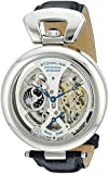 Stuhrling Original Men's Emperor's Grandeur Automatic Skeleton Dial Watch Silver 127A.3315C2
