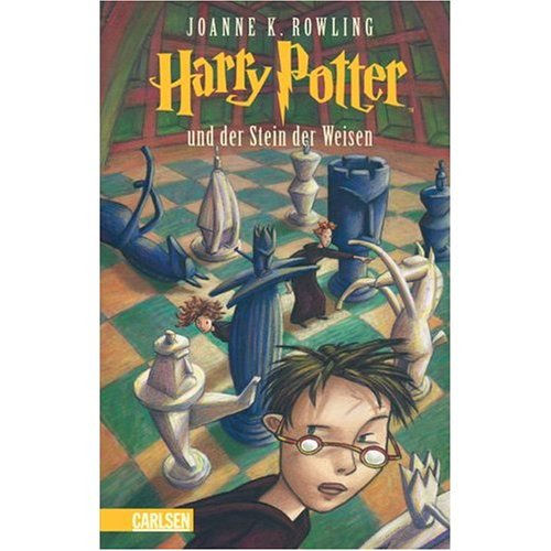 Harry Potter und der Stein der Weisen (German edition of Harry Potter and the Sorcerer's Stone)
