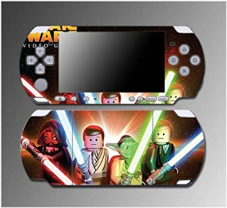 Star Wars Jedi Darth Vader Luke Cartoon Game Vinyl Decal Sticker Cover Skin Protector #5 for Sony PSP Slim 3000 3001 3002 3003 3004 Playstation Portable