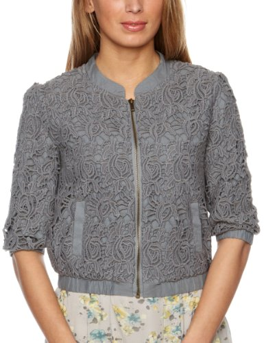 Darling Jinny Zipped Women's Jacket Shadow Size