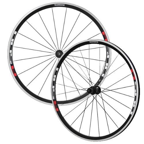 shimano-wh-r501-lot-de-2-roues-de-velo-noir-rouge