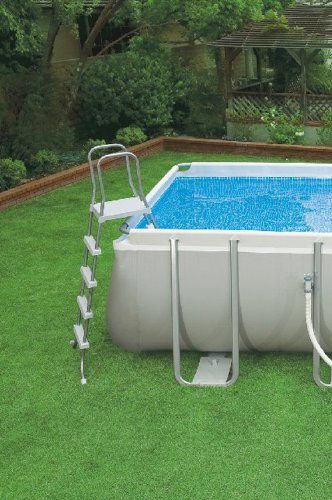 Intex Rectangular Ultra Frame Pool Set Ladder