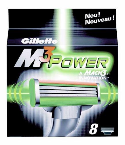 Gillette M3 Power Klingen, 8 Stück