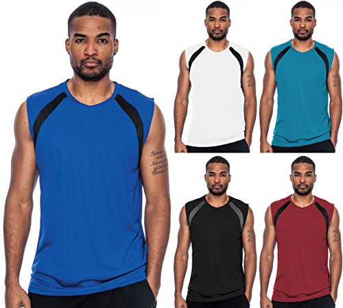 Enimay-Mens-Athletic-Short-Sleeve-Workout-Gym-Shirt-Dry-Fast-Breathable-Top