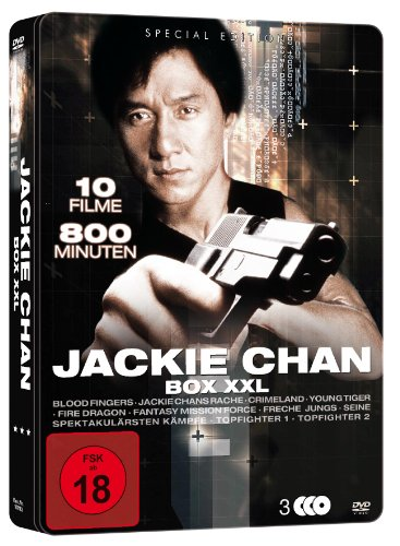 Jackie Chan XXL Metallbox-Edition (3 DVDs mit 10 Filmen) [Special Edition]