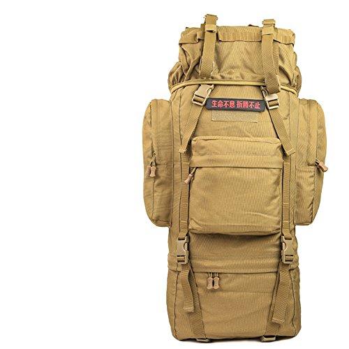 100L sac surdimensionné / extérieur / tactique / sac d'alpinisme sac à dos / sac à bandoulière camouflage-5 70L