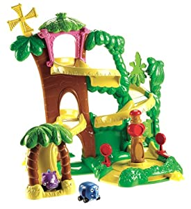 Fisher-Price World of Jungle Junction Roadway Playset: Toys