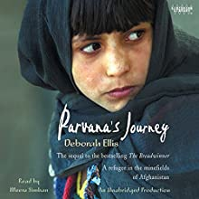 Parvana's Journey Audiobook by Deborah Ellis Narrated by Meera Simhan