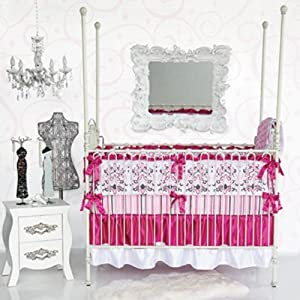 Caden Lane Luxe Collection Sophia Crib Bedding Set by Caden Lane