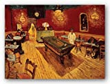 Night Cafe with Pool Table by Vincent Van Gogh Art Print Poster