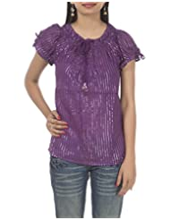 Rajrang Womens CasuaL Wear Soft Cotton Draw String Top Summer Size M