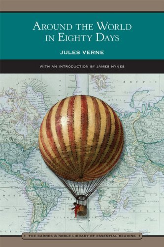 By Jules Verne Around The World In Eighty Days (Barnes & Noble Library Of Essential Reading) (Reprint)