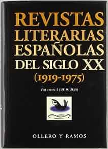 REVISTAS LITERARIAS ESPAÑOLAS S.XX.3 VOL: 9788478952212