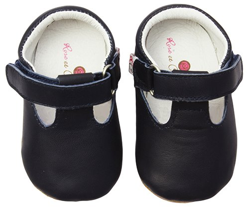 ju-ju-be-t-strap-baby-girls-crawling-baby-shoes-blue-navy-103806-6-12-months-baby-uk