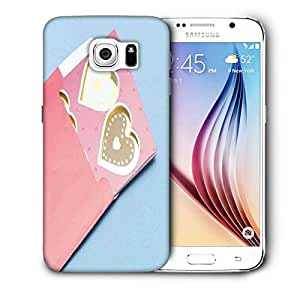 Snoogg Heart Of Cards Printed Protective Phone Back Case Cover For Samsung Galaxy S6 / S IIIIII