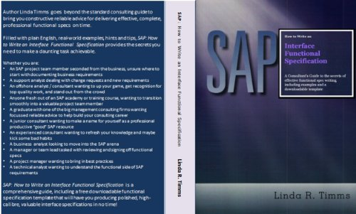 sap-how-to-write-an-interface-functional-specification-the-consultants-guide-series-book-2