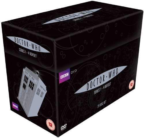 gadget geek - doctor who complete series box set import anglais
