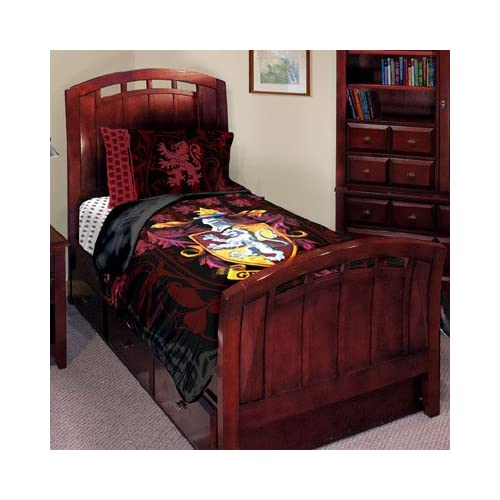 Amazon.com - Harry Potter J'adore Gryffindor Twin Bed Set (Comforter