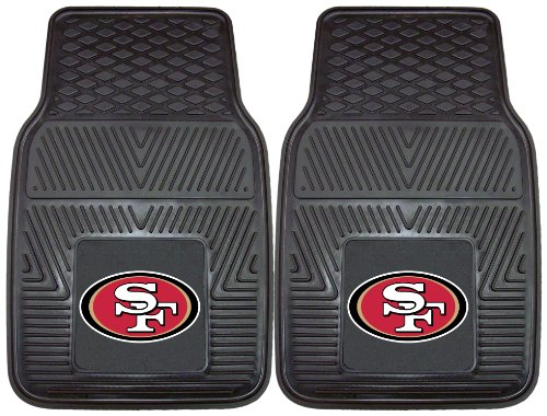 FANMATS NFL San Francisco 49ers Vinyl Heavy Duty Vinyl Car Mat at Amazon.com