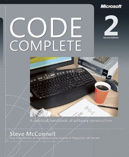 Code Complete: A Practical Handbook of Software...