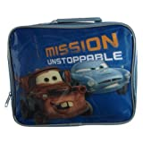 Disney Boys Cars 2 Mission Unstoppable Insulated Lunch Bag Blue