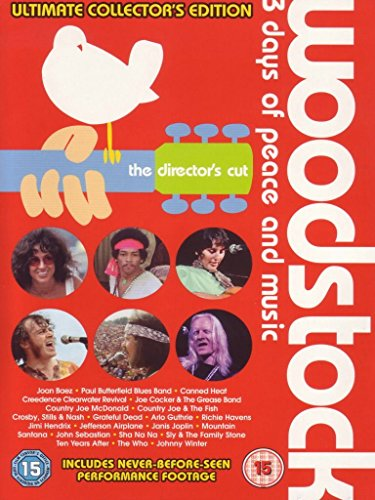 Woodstock - 3 days of peace and music (ultimate collector's edition) (the director's cut) [Edizione: Regno Unito]