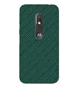 EPICCASE Cool Green case Mobile Back Case Cover For Moto Play (Designer Case)