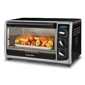 Amazon.com: Black & Decker Countertop Oven: Countertop Microwave Ovens ...